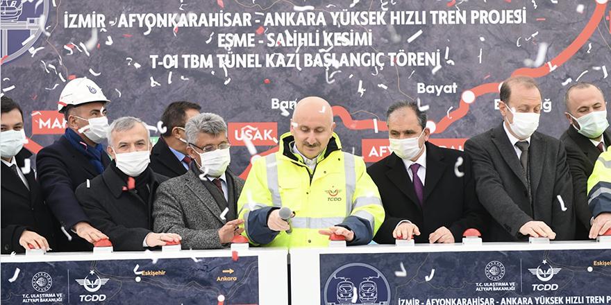 """Bakan Karaismailoğlu:""""Demiryolu Reformu'nu başlattık"""""""