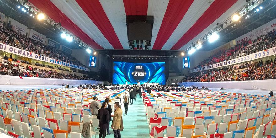 AK Parti 7. Olağan Büyük Kongresi, Ankara Arena'da başladı