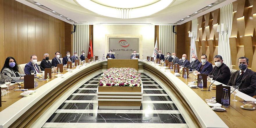 """ATO Başkanı Baran: """"Reel sektörümüz tarım alanında iş birliği yapmaya hazır"""""""
