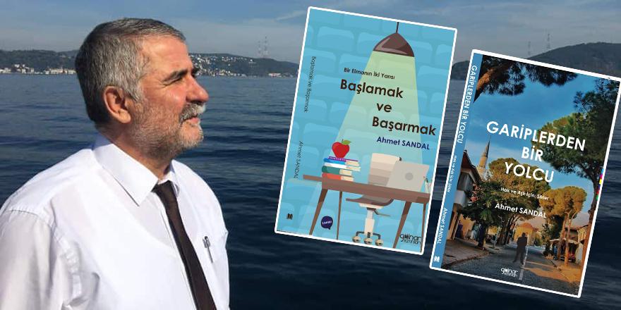 Şair Ahmet Sandal'ın iki kitabı birden raflarda
