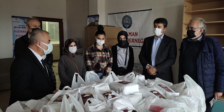 Başkan Yavaş'tan Adıyaman'daki Çölyak hastalarına destek