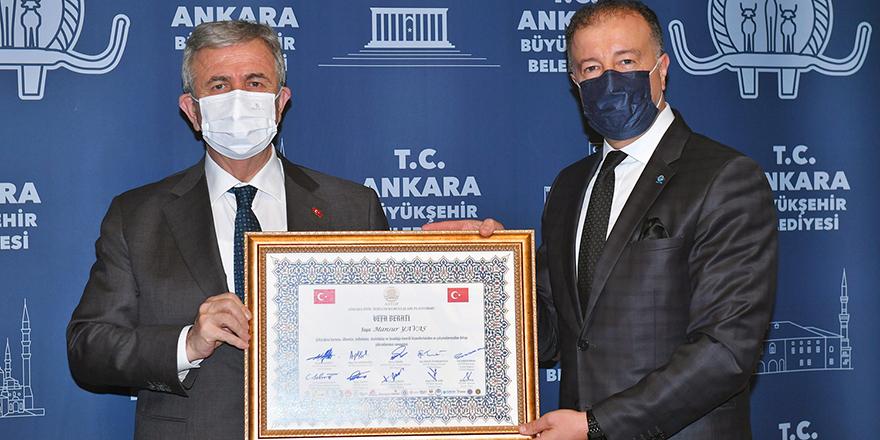 Başkent STK'larının Vefa Ödülü, Başkan Yavaş'a