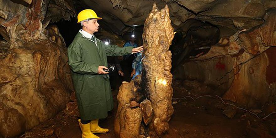 Tulumtaş mağarası gün yüzüne çıkıyor