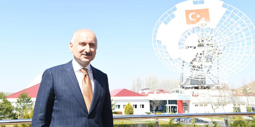 Karaismailoğlu'dan Türksat A.Ş. Gölbaşı yerleşkesine ziyaret