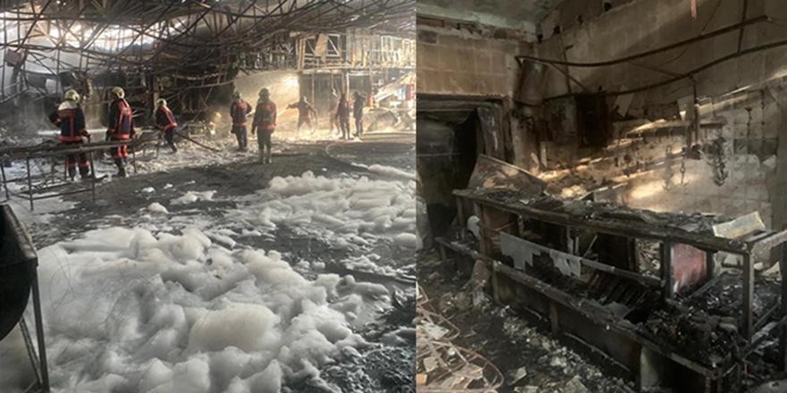 Kızılcahamam'da büyük yangın