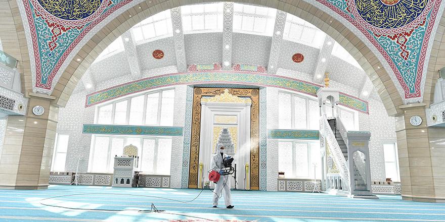 Mamak'ta Camiler Ramazan'a hazırlanıyor