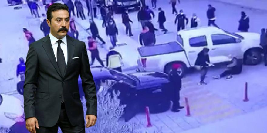 Mustafa Üstündağ'ın kavgası kamerada