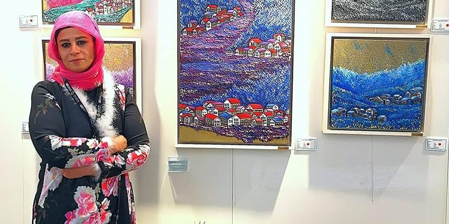 Neriman Şahin'in Art Ankara başarısı