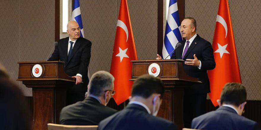 Çavuşoğlu'ndan Yunanistan Dışişleri Bakanı Dendias'a sert tepki