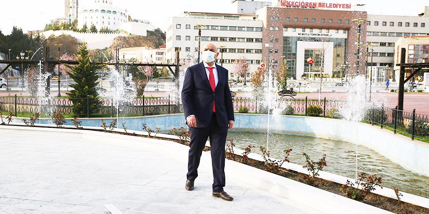 Türk Dünyası Su ve Gül Meydanı'nda gösteriler başladı