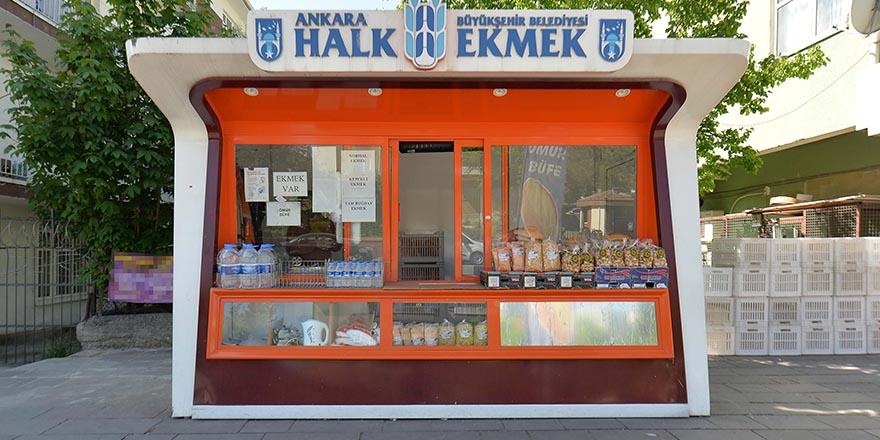 Ankara'da Halk Ekmek büfe sayısı artıyor
