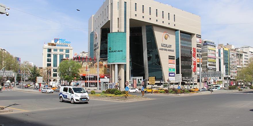 Başkent'te kapanma sessizliği