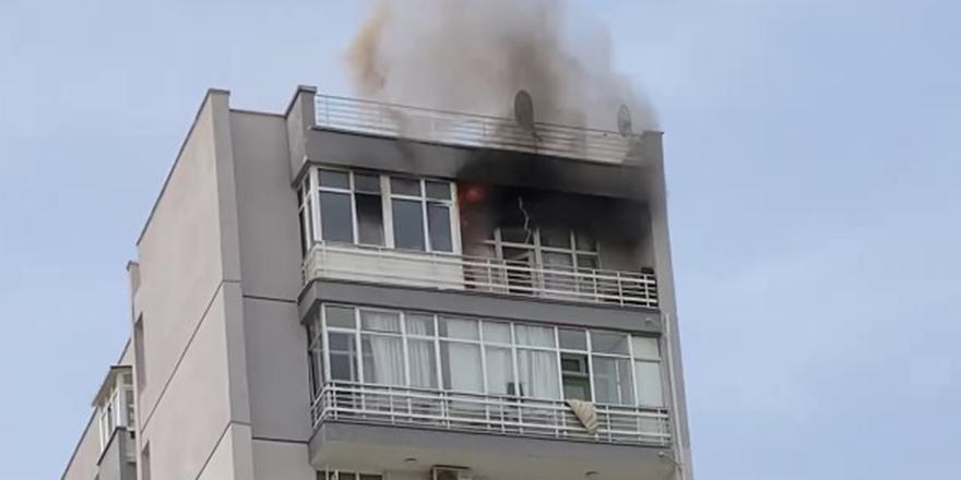 Çankaya'da korkutan yangın