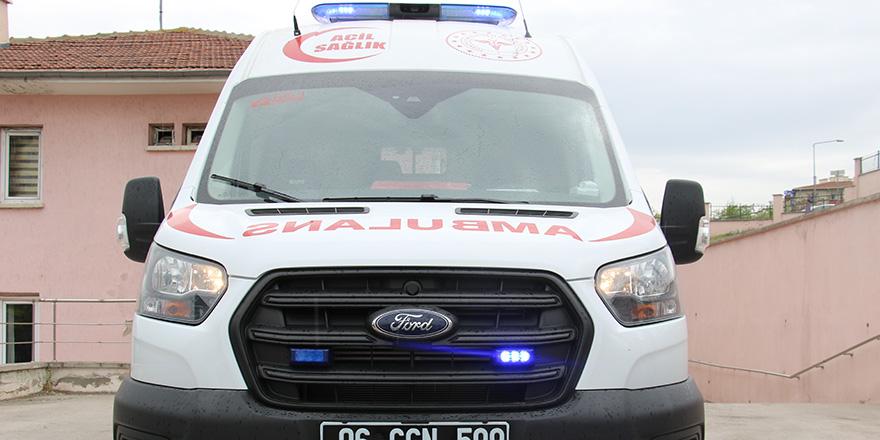 Sağlık Bakanlığı'nın 'yenidoğan' ambulansı