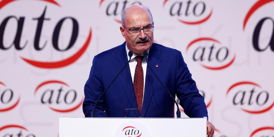 ATO Başkanı Baran'dan ticari kredilere erteleme talebi