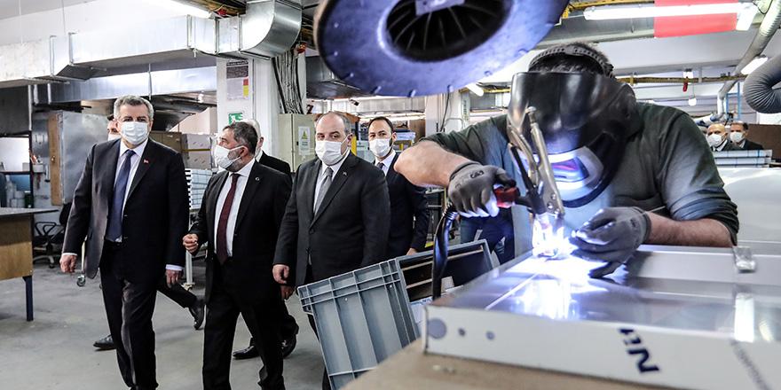 Bakan Varank, Öztiryakiler firmasını ziyaret etti