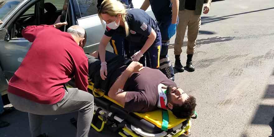 Kural ihlali kazaya yol açtı: 2 yaralı