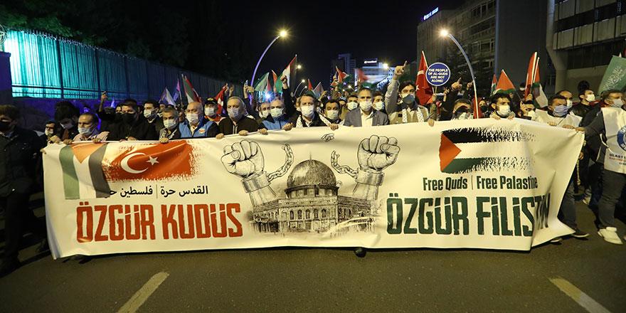 Türkiye susmuyor! Kudüs için tek yürek
