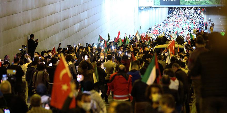 Ankara Kudüs için yürüdü