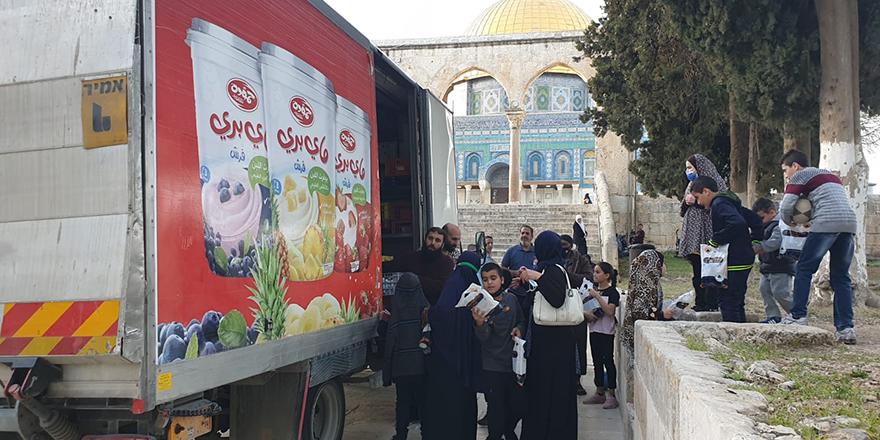 Türkiye Diyanet Vakfından Filistin'e destek