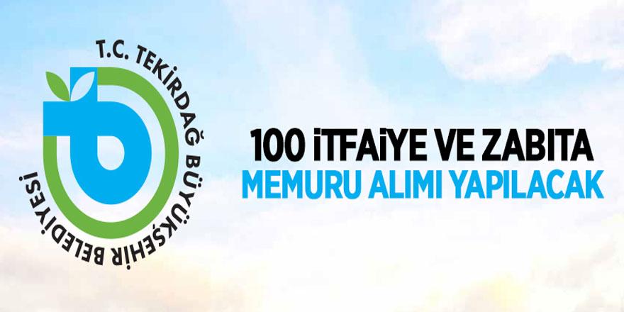 Tekirdağ Büyükşehir Belediye Başkanlığı memur alımı yapacak