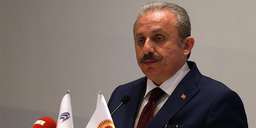 TBMM Başkanı Şentop, Kazakistan Meclis Başkanı Nigmatulin ile görüştü