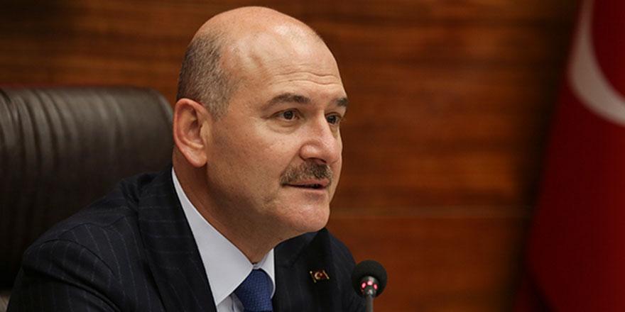İçişleri Bakanı Soylu'dan MHP Lideri Bahçeli'ye teşekkür