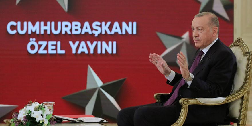 Cumhurbaşkanı Erdoğan'dan müjde açıklaması