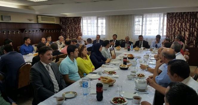 Ahmet Yesevi Üniversitesi'nde bayram buluşması