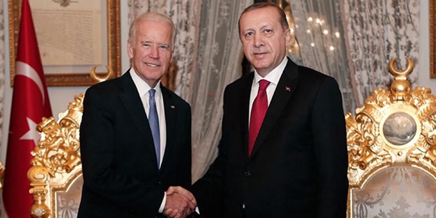 ABD'den  Biden ve Erdoğan görüşmesi açıklaması