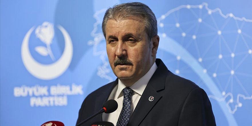 Mustafa Destici: PKK, Ortadoğu tarihinin en büyük suç örgütüdür
