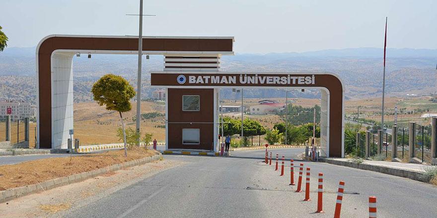 Batman Üniversitesi öğretim üyesi alacak