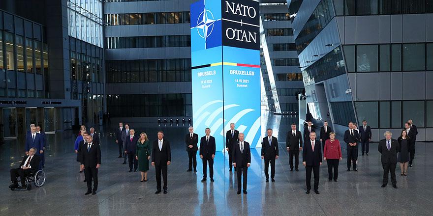 Cumhurbaşkanı Erdoğan NATO Zirvesi'nde