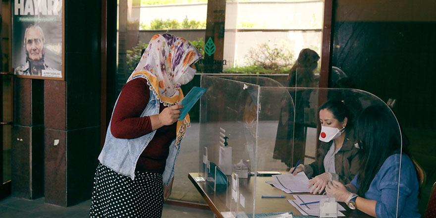 Çankaya'da 245 hane daha Halk Kartı sahibi oldu