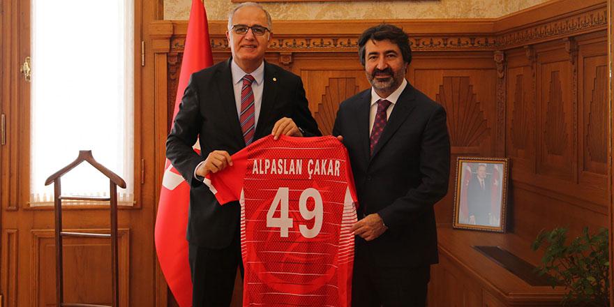 Çakar: Türk voleyboluna destek vermeye devam edeceğiz