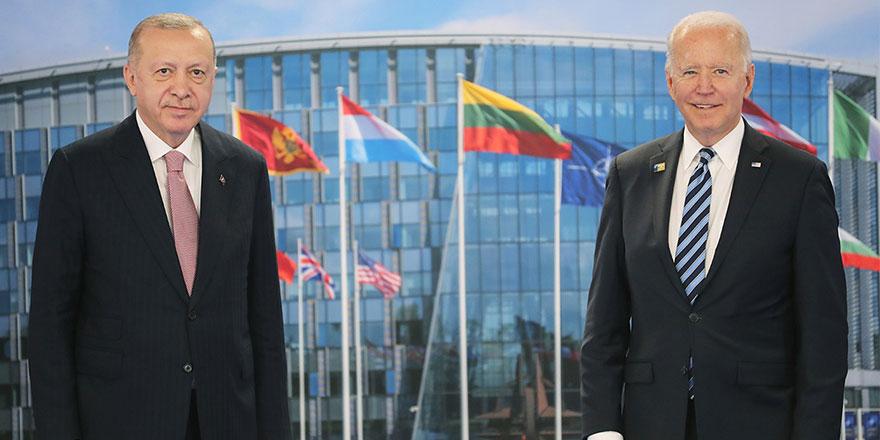 Cumhurbaşkanı Erdoğan, Biden görüşmesinin detaylarını anlattı