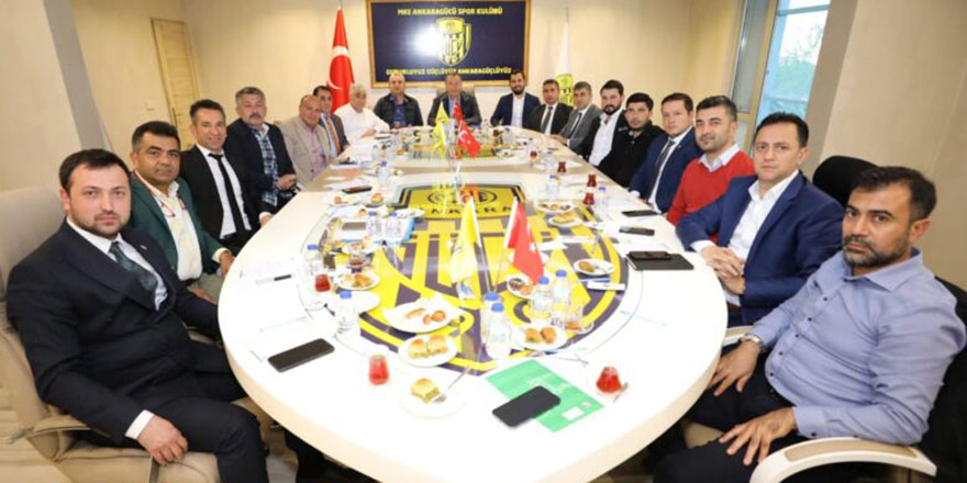 Ankaragücü'nde görev dağılımı yapıldı