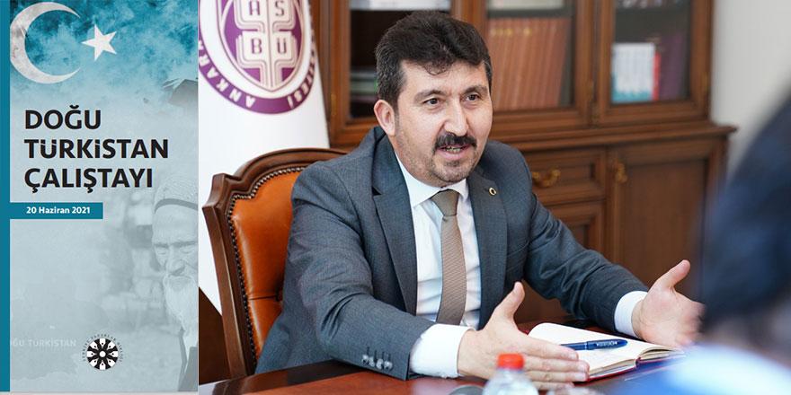 """TYB """"Doğu Türkistan Çalıştayı"""" düzenleyecek"""