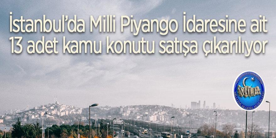 Milli Piyango İdaresine ait kamu konutları satışa çıkarılıyor