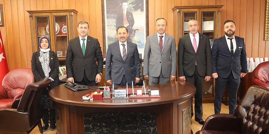 Hacı Turan'dan Başkan Demirel'e teşekkür