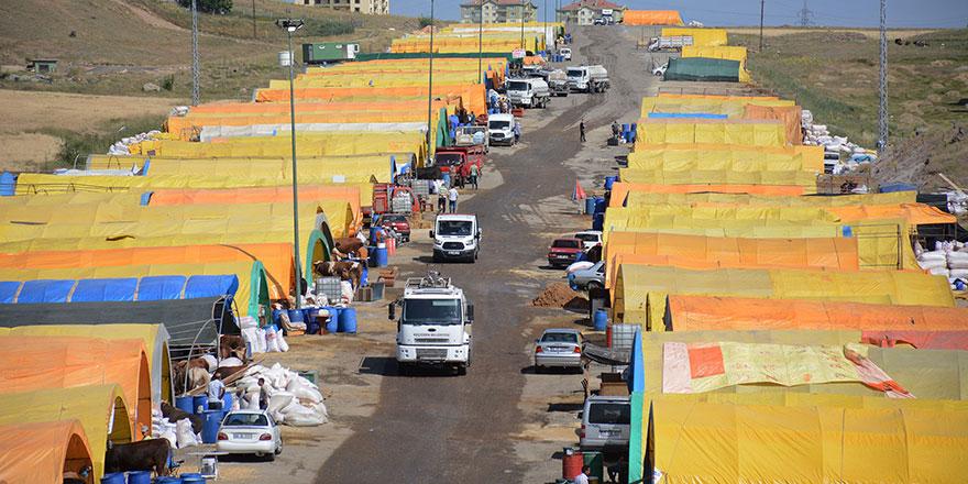 Keçiören'de kurban satış alanı hazır