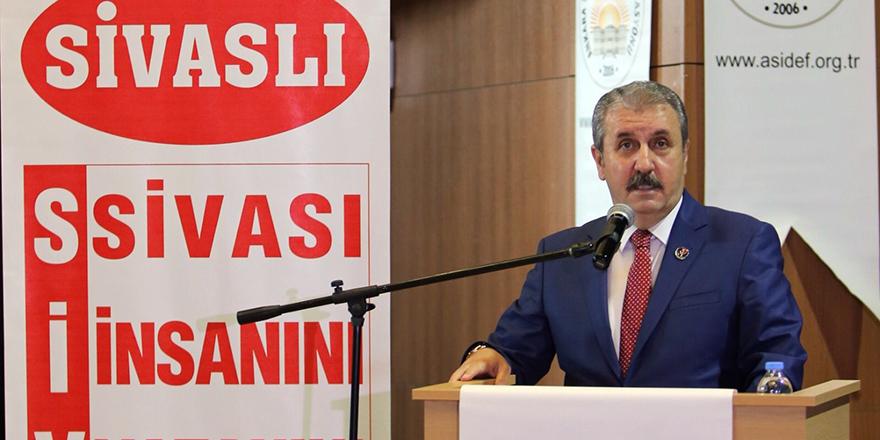Mustafa Destici Sivaslılarla bir araya geldi