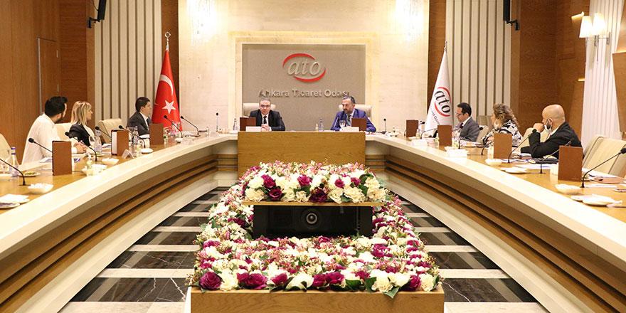 ATO ve Büyükşehir'den ortak toplantı