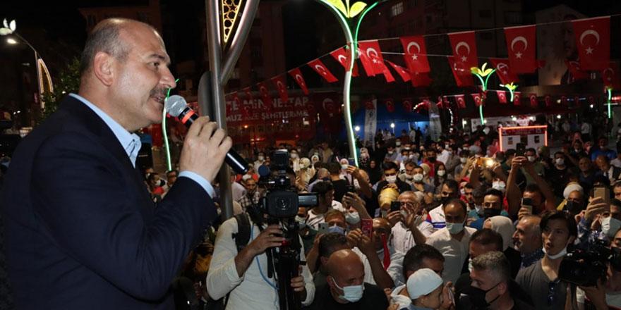 Bakan Soylu: 'Terör örgütünü boğuyoruz, bitiriyoruz, tüketiyoruz'