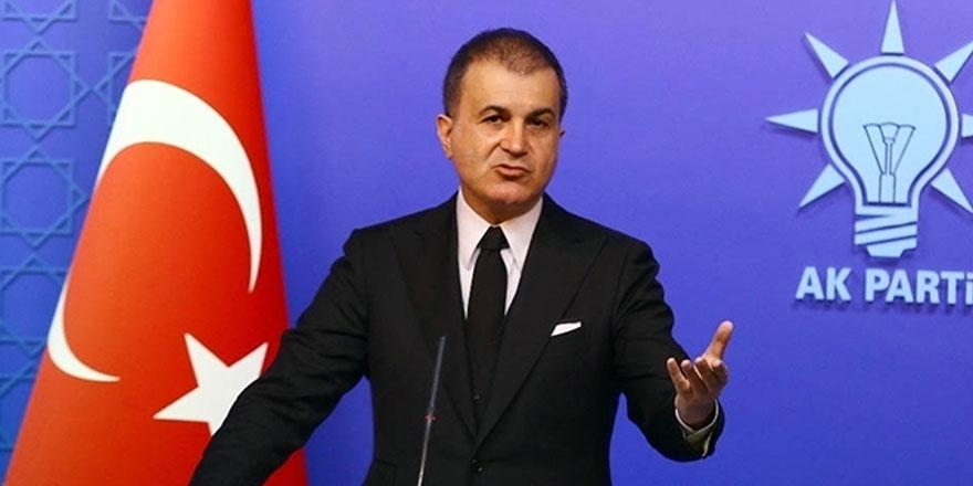 AK Parti Sözcüsü Çelik'ten başörtüsü tepkisi