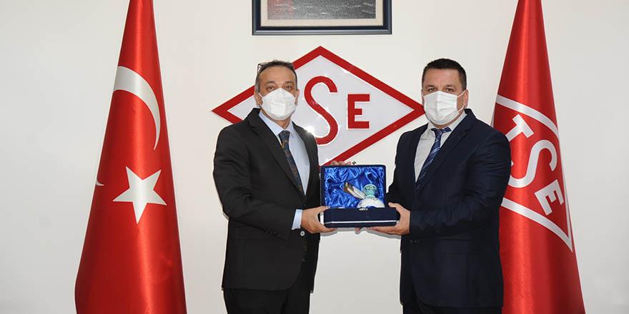 Kuzey Makedonya Heyeti, TSE'yi ziyaret etti