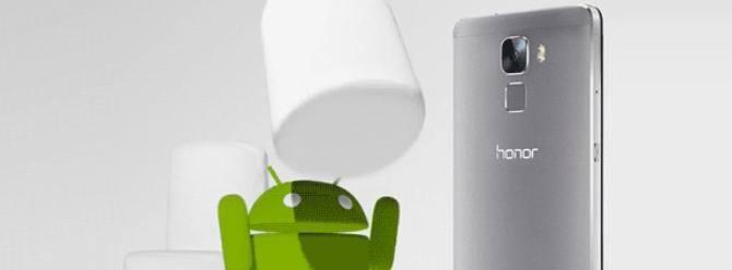 Honor 7 için Marshmallow güncellemesi Avrupa'da!