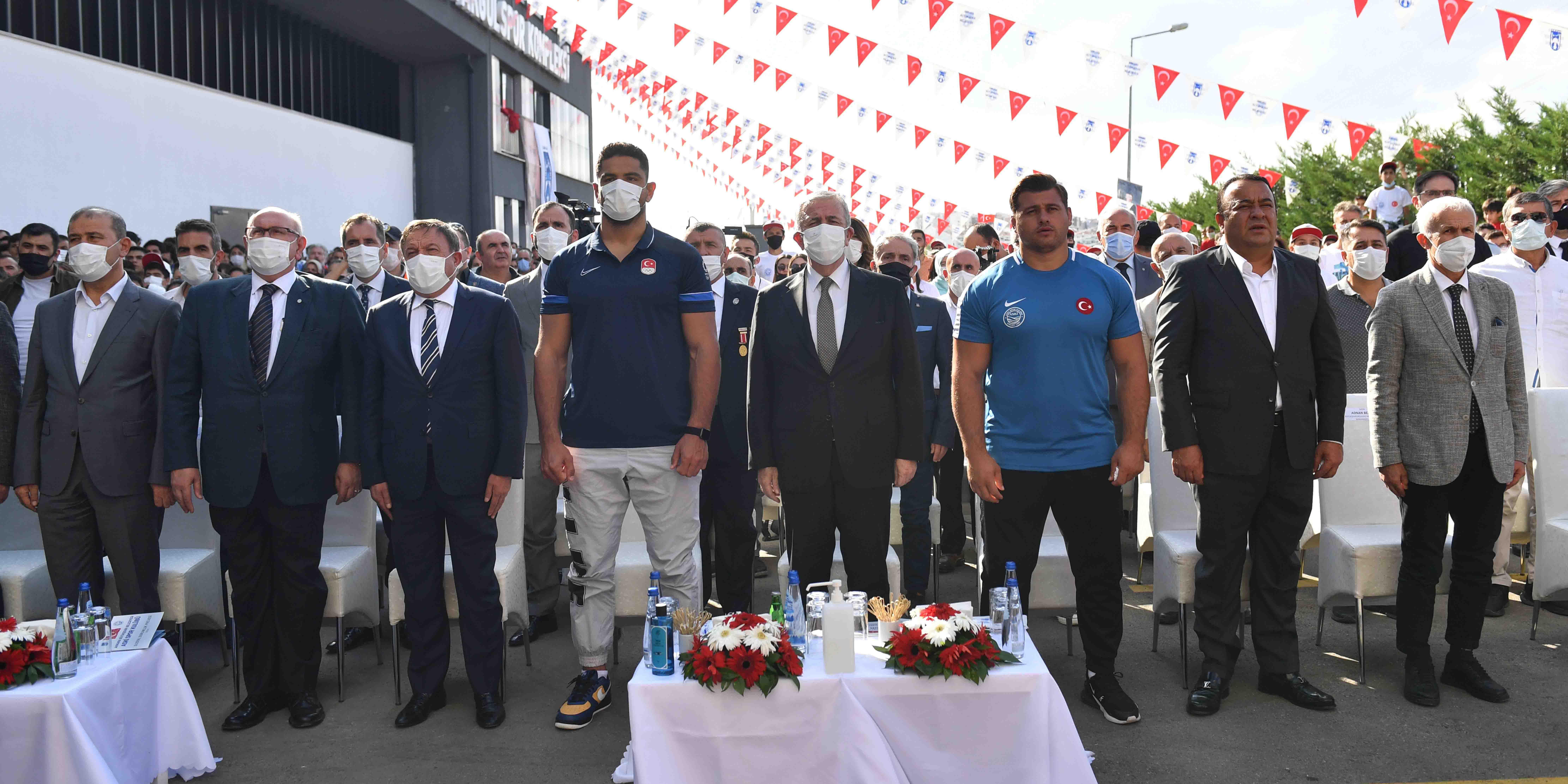 Ankara'da gençler sporla buluştu