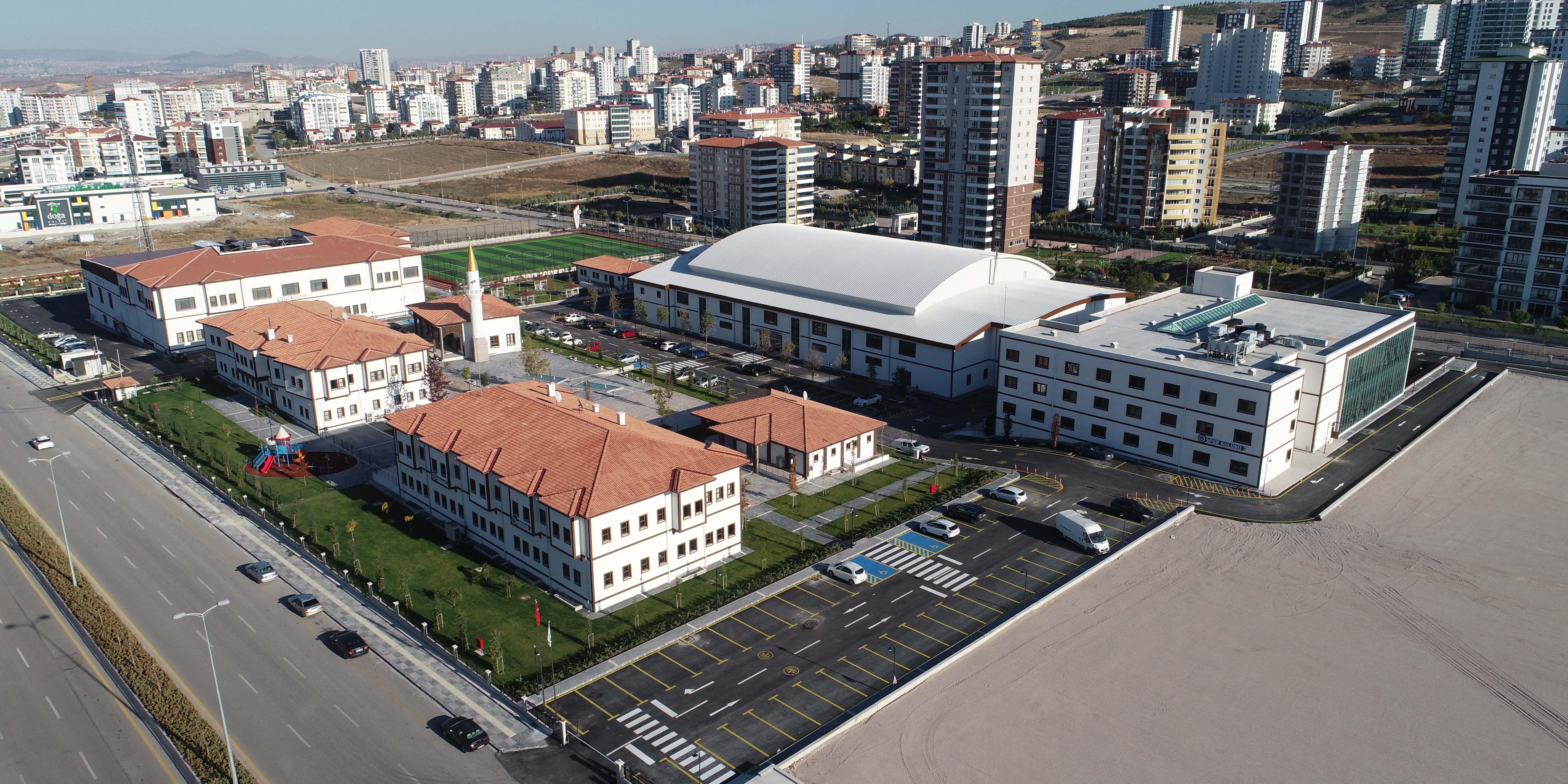 Devlet Bahçeli tesisleri açıldı