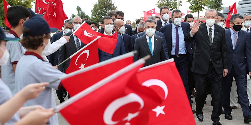 Cumhurbaşkanı Erdoğan Polatlı'da konuştu